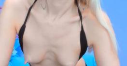 Blonde Schlampe