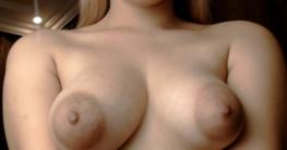 Dicke puffy Nipples