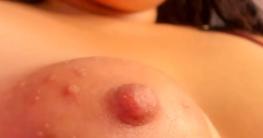 Puffy Nipples Nahaufnahme